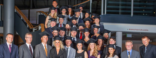 Absolventen DG PARO Master of Science in Parodontologie und Implantattherapie 2013